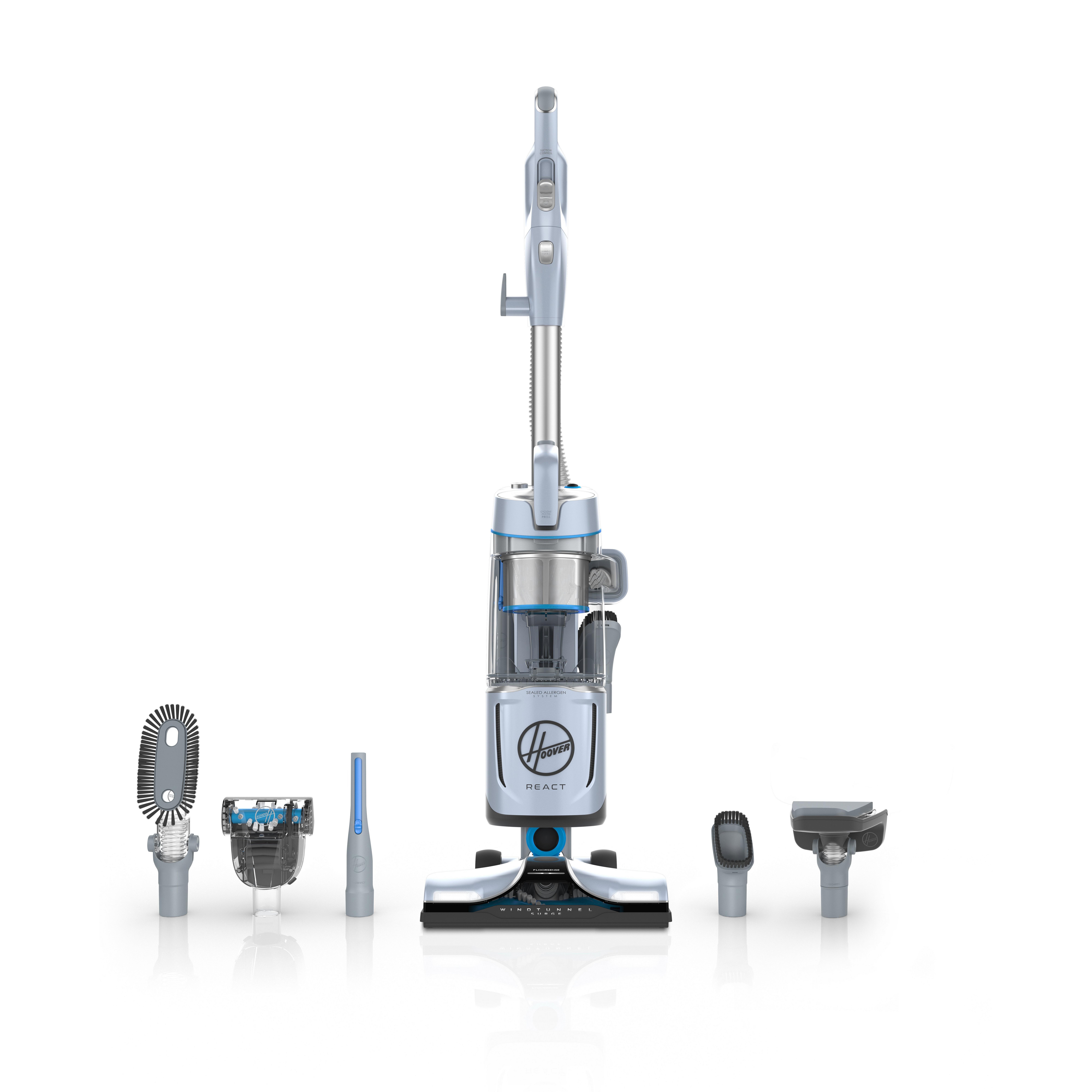 REACT QuickLift Deluxe Upright Vacuum