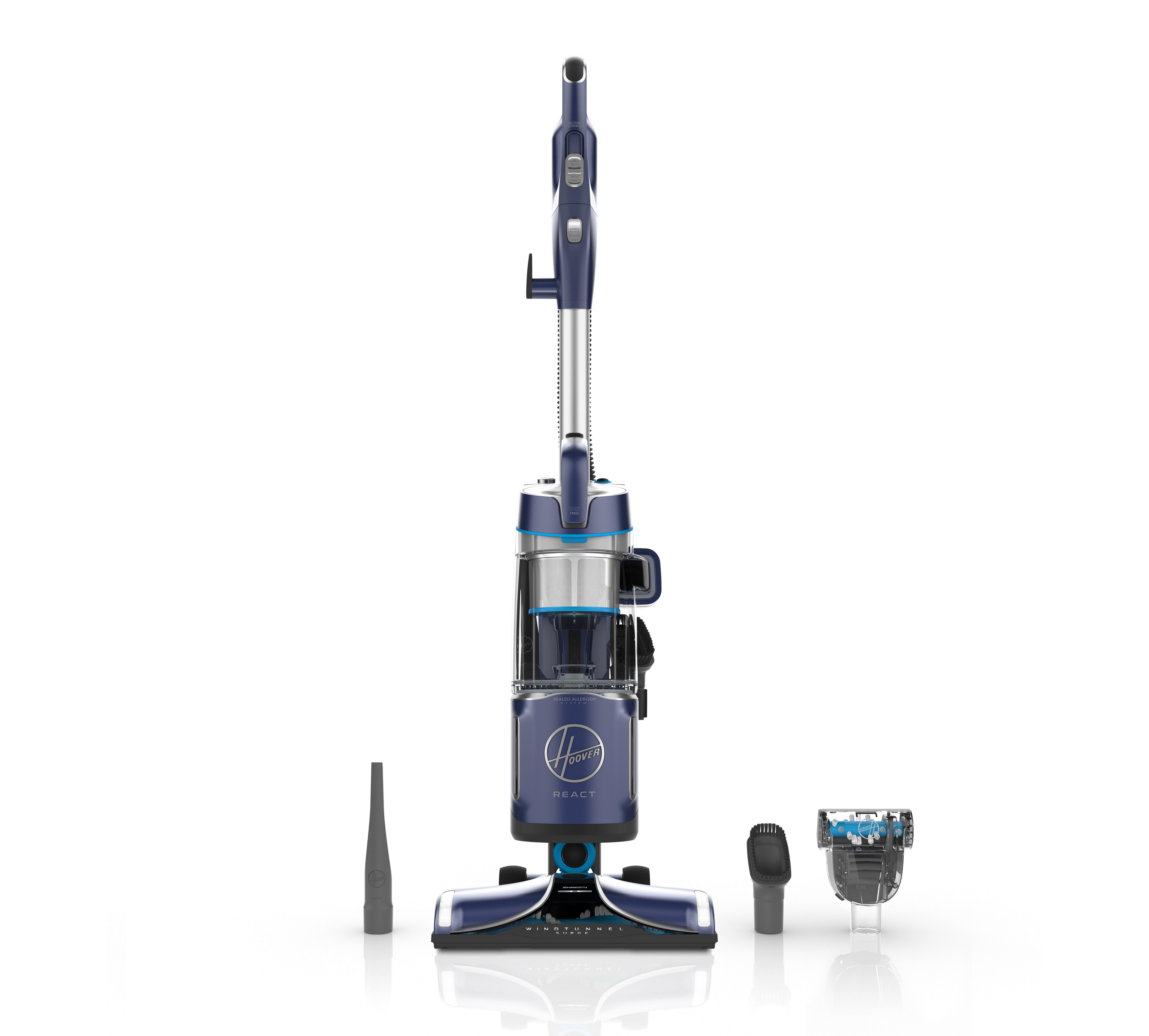 REACT Powered Reach Lite Upright Vacuum