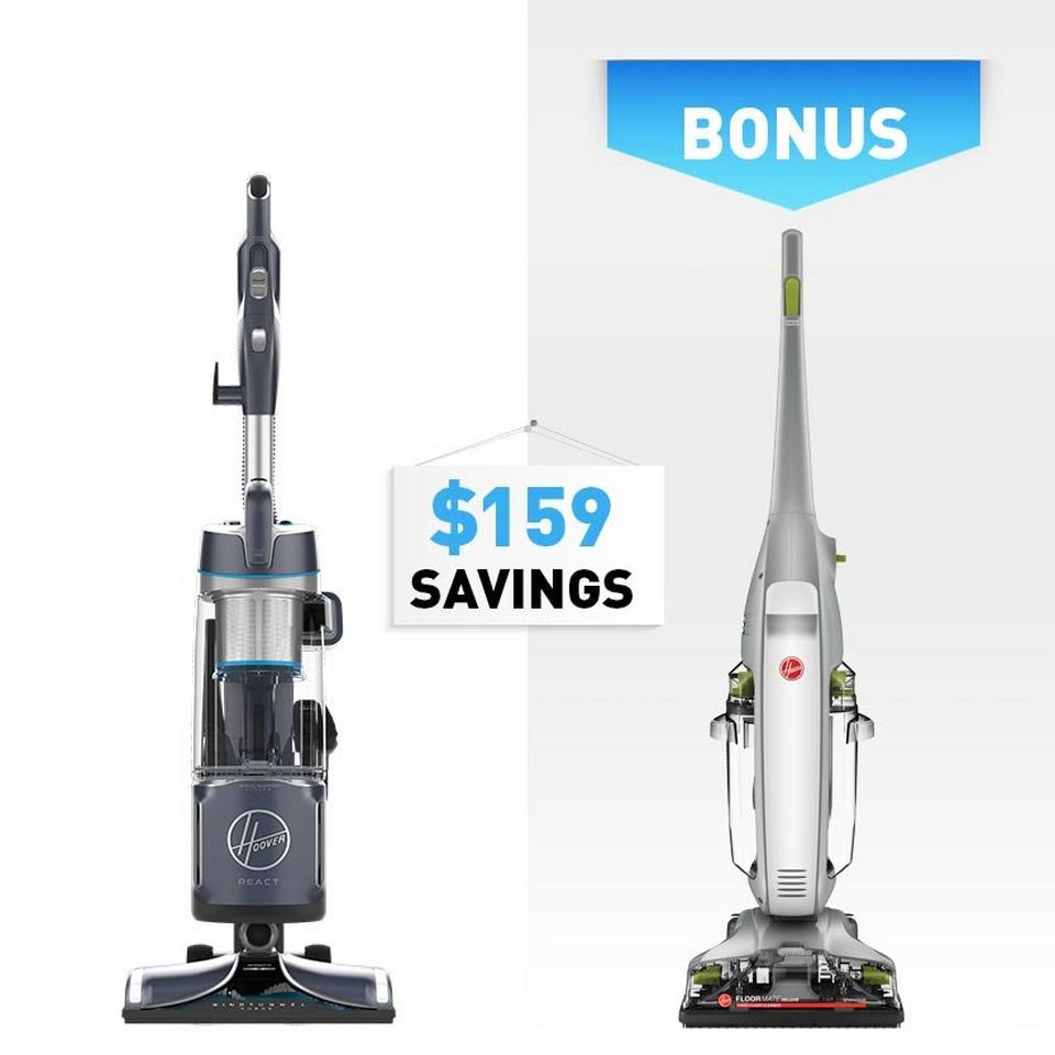 REACT Powered Reach Plus Upright Vacuum - UH73510
