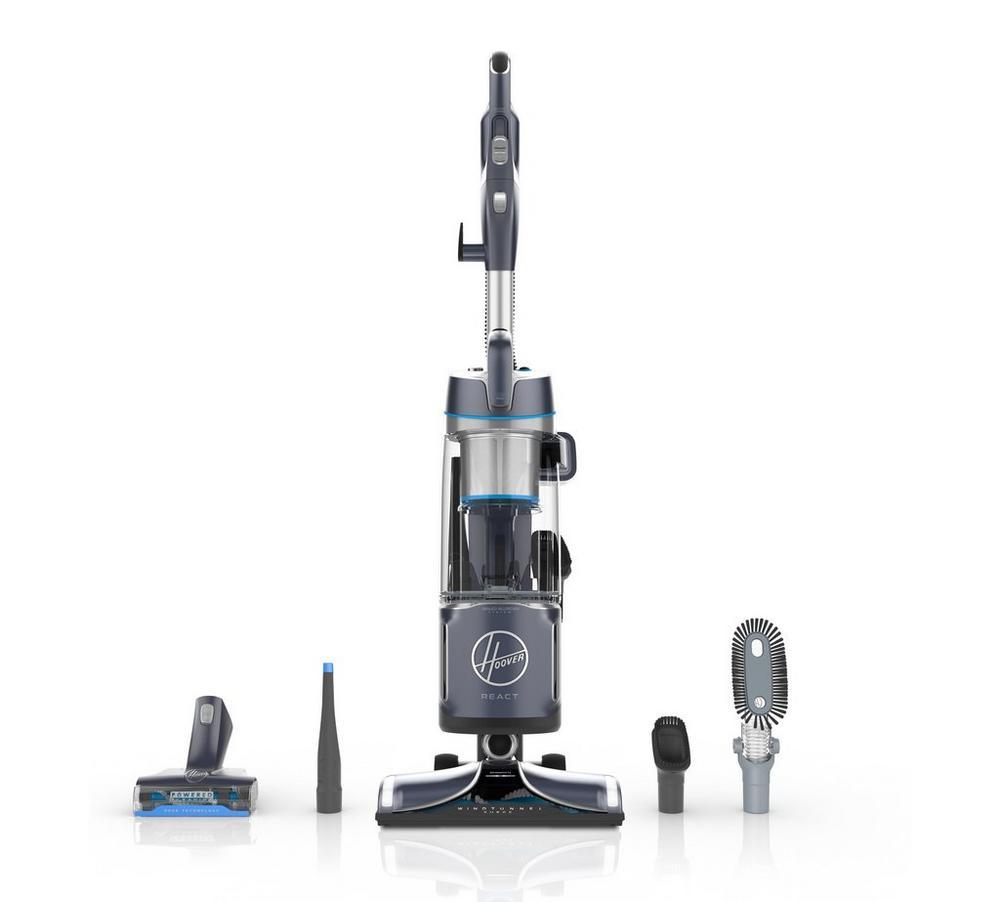 REACT Powered Reach Plus Upright Vacuum1
