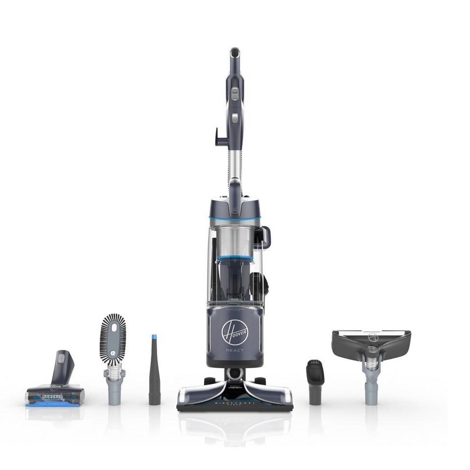 REACT Powered Reach Pro Upright Vacuum