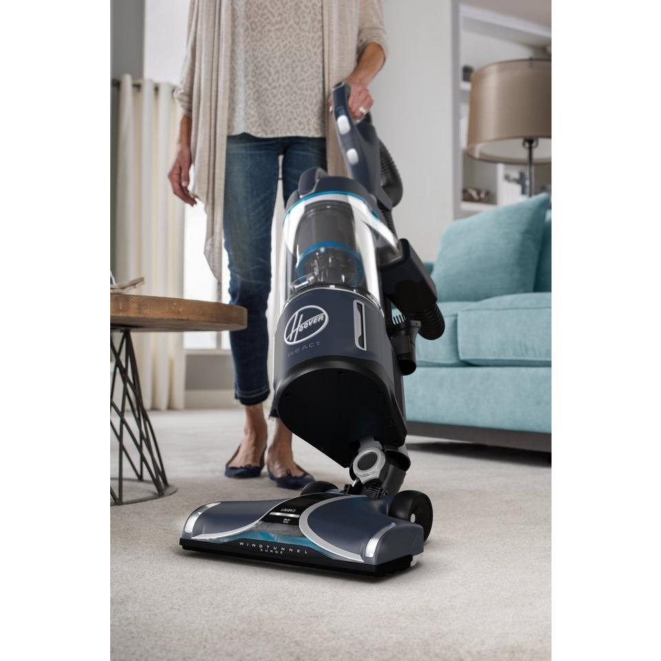 REACT Powered Reach Deluxe Upright Vacuum - UH73540