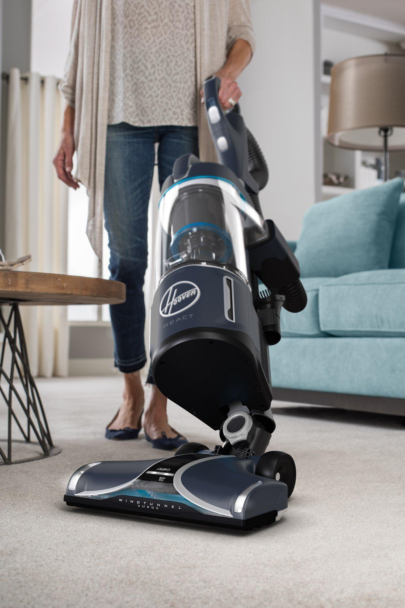 REACT Powered Reach Premier Upright Vacuum6