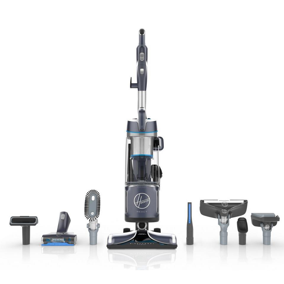 REACT Powered Reach Premier Upright Vacuum