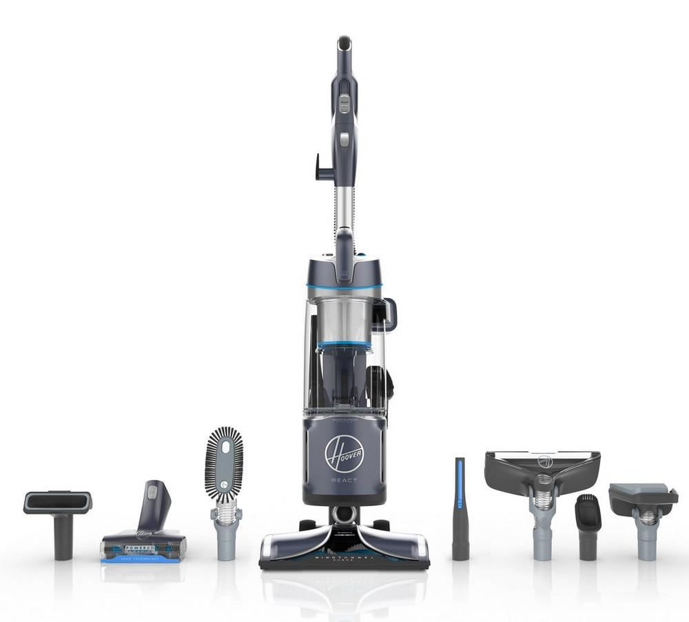 REACT Powered Reach Premier Upright Vacuum