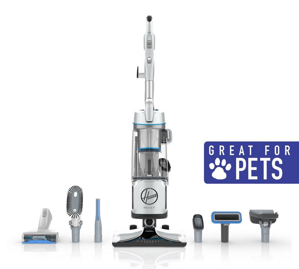 REACT Powered Reach Premier Pet Upright Vacuum