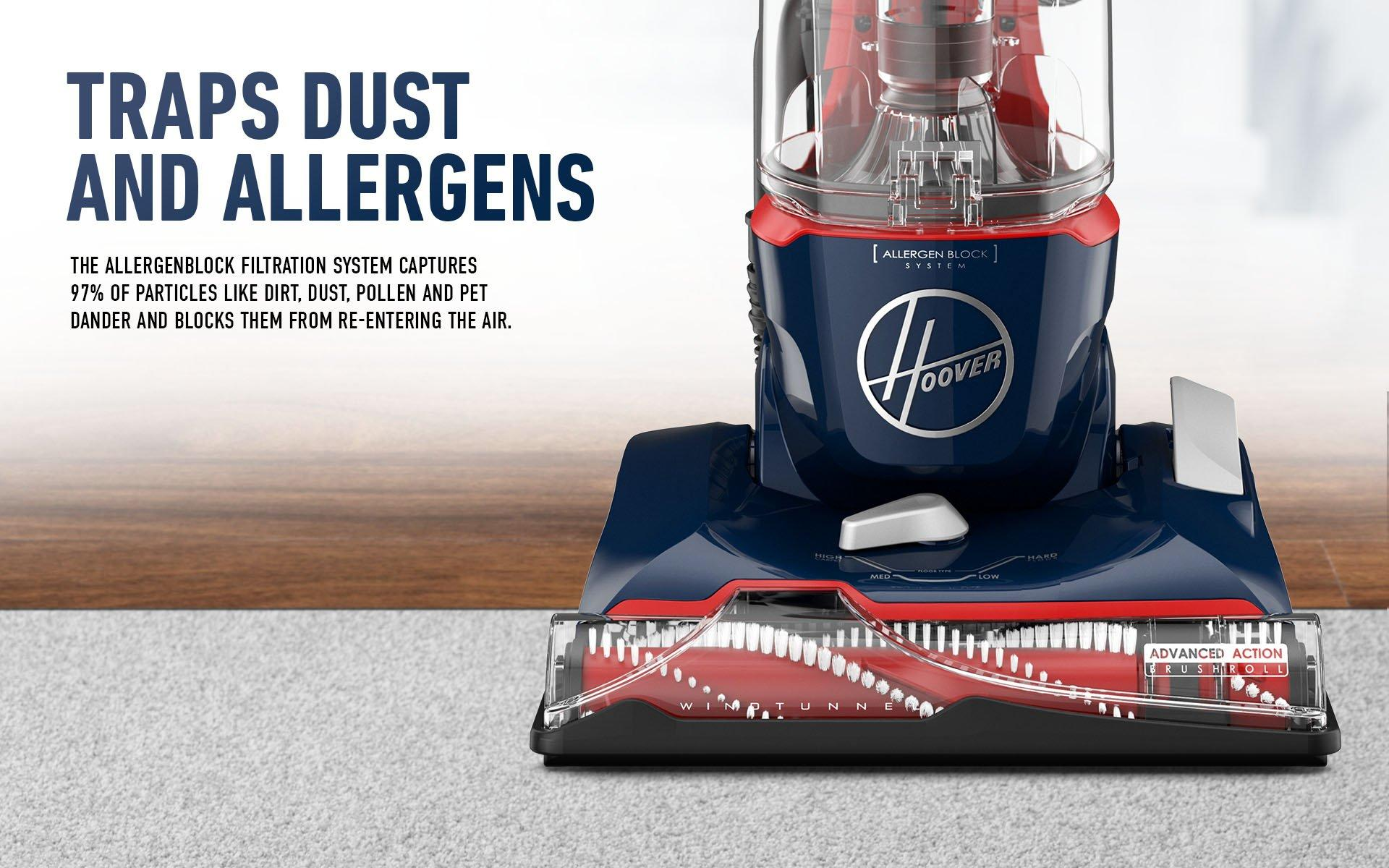 Traps Dust and Allergens