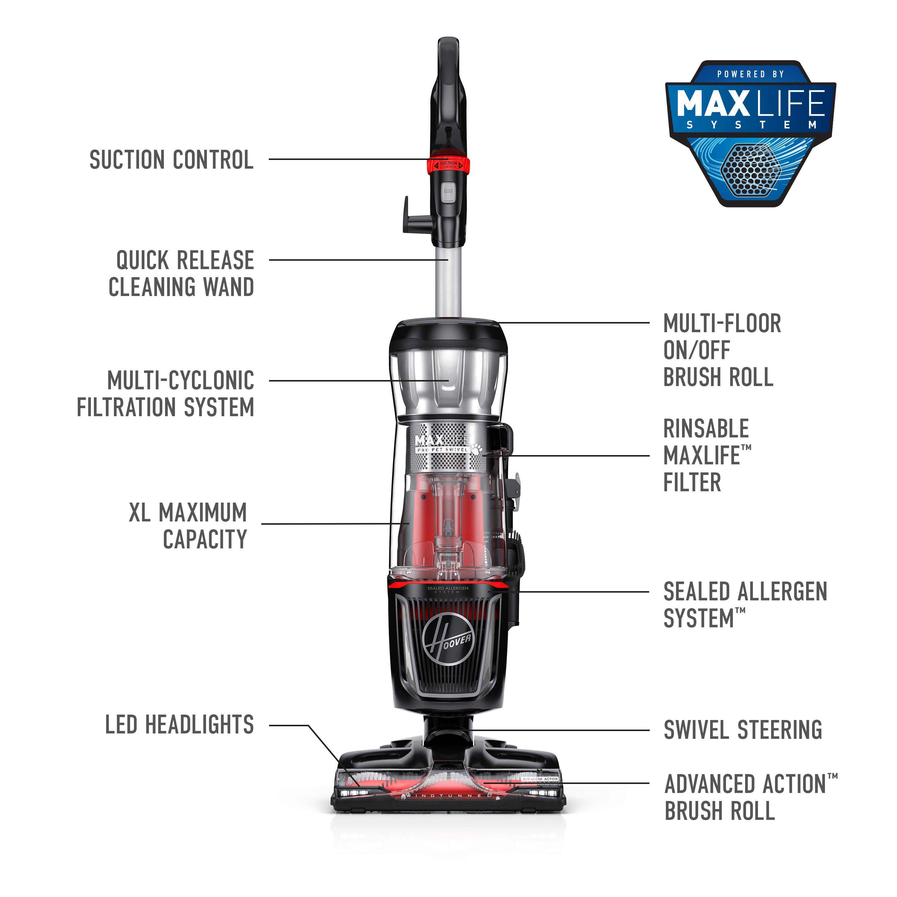 MAXLife Pro Pet Swivel Upright Vacuum7