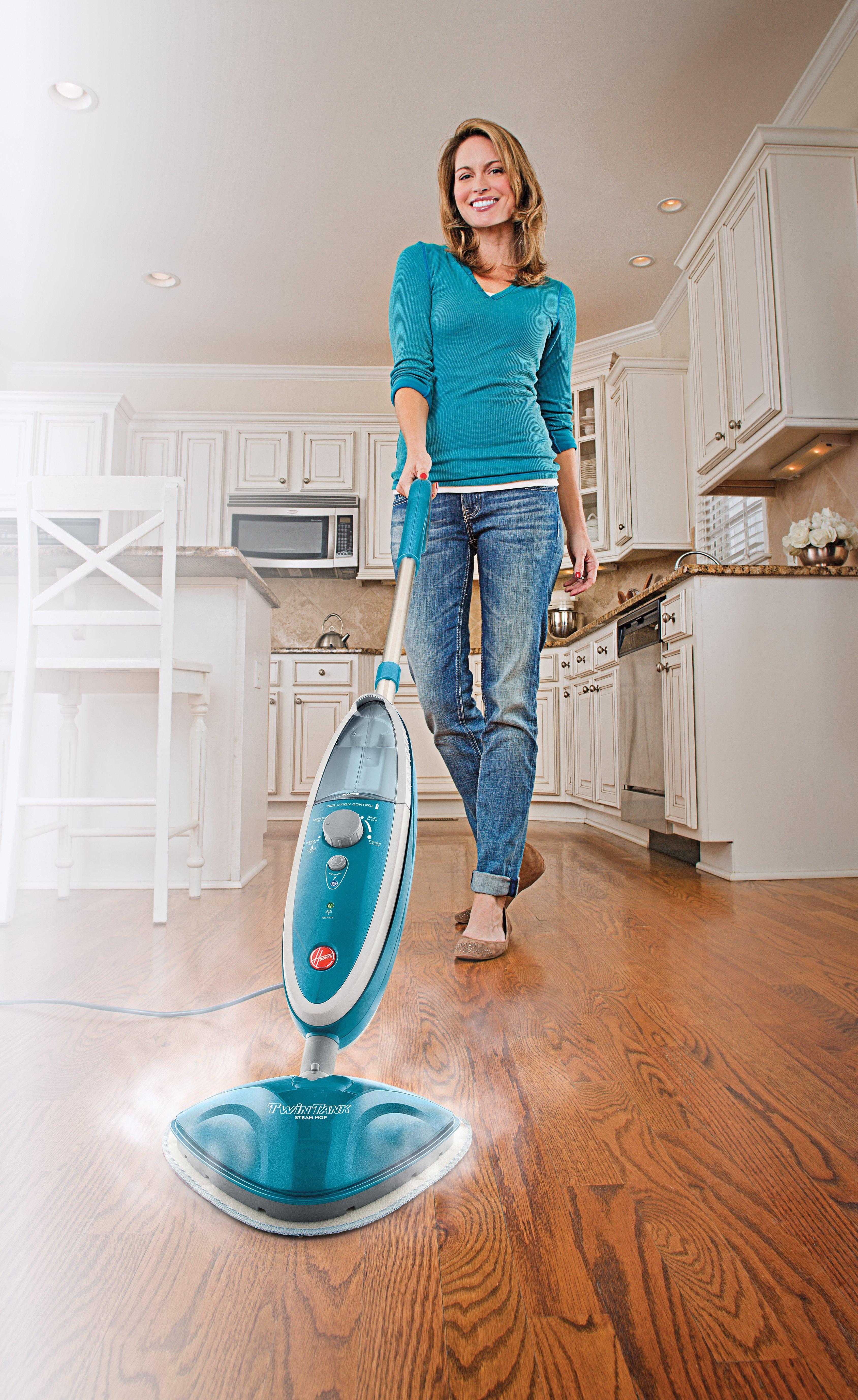 TwinTank Steam Cleaner Mop4
