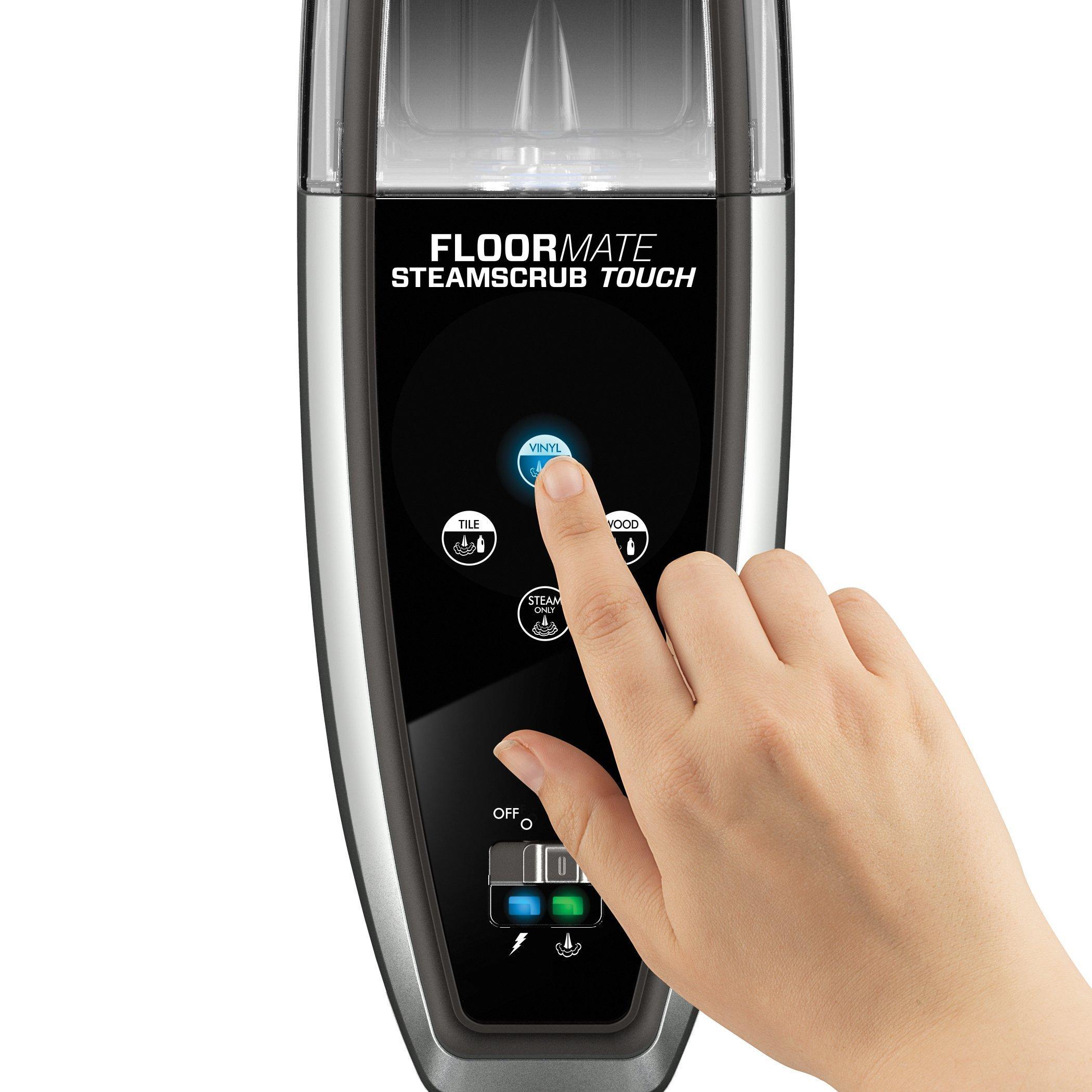 FloorMate SteamScrub Touch Steam Cleaner Mop8