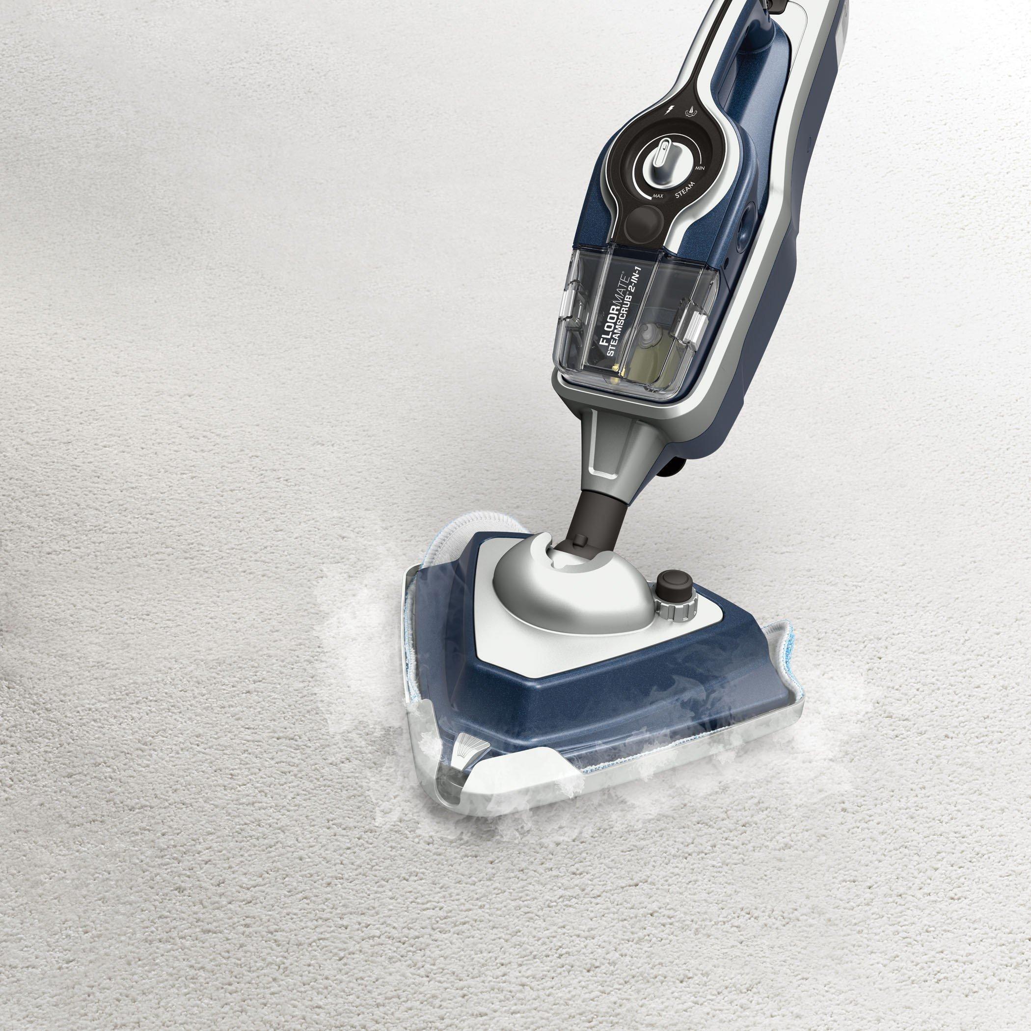 FloorMate SteamScrub Plus 2-in-1 Steam Mop5