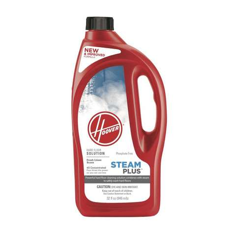 32 oz. Steam Plus 4X Hard Floor Solution, , medium