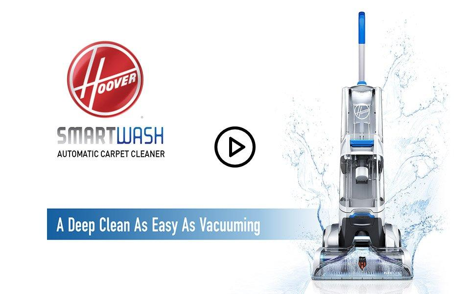 Smartwash Automatic Carpet Cleaner Fh52000 Hoover